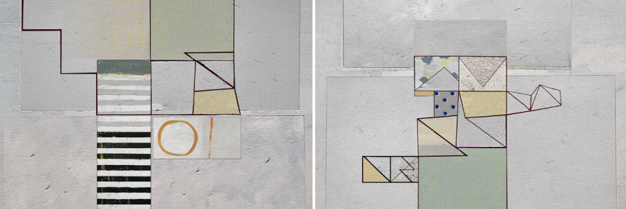 The third Person 03 diptych