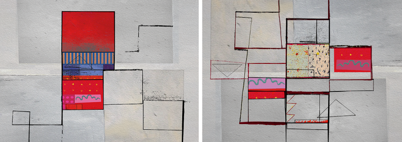 Signal Series 2009 - Diptych 06